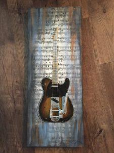Mixed Media-Guitar